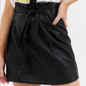 NWT payton Paperbag Mini Skirt free people